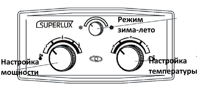 водонагреватель SUPERLUX DGI