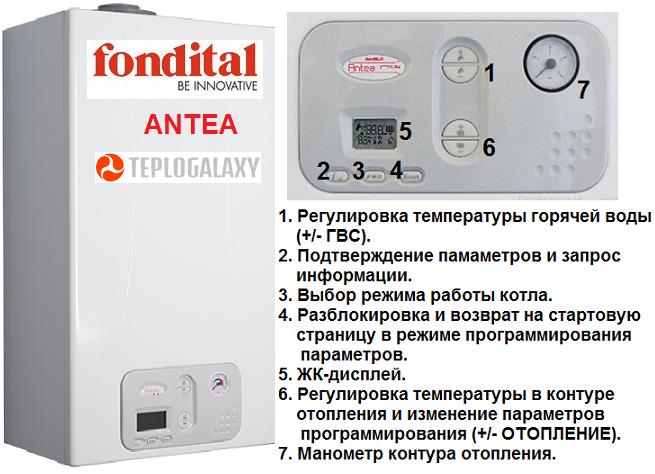 Настенные конденсационные котлы Fondital