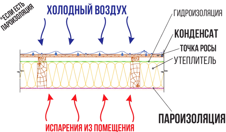 Пароизоляция Технониколь