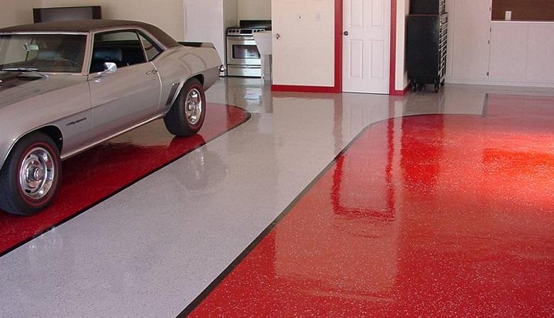 полимерные полы в гараже