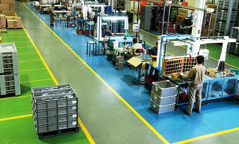 полимерные полы промышленный цех