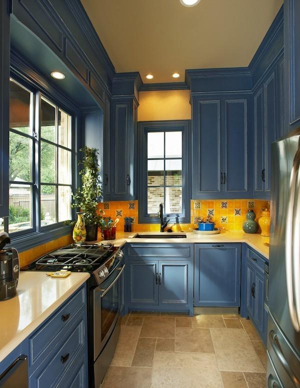 Синяя кухня