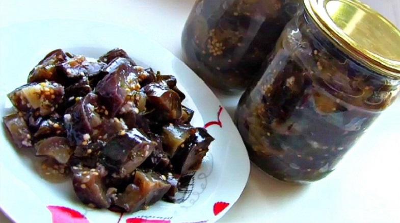 рецепт баклажанов со вкусом грибов