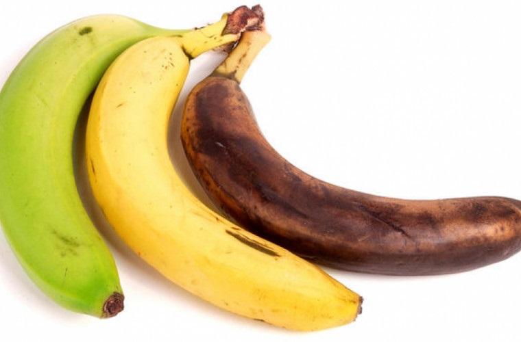 степень созревания бананов